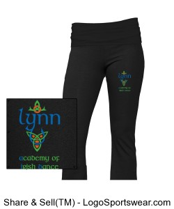 GIRLS Yoga Pants Design Zoom
