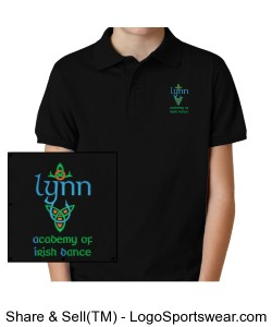 Beginner - Prizewinner BOYS Uniform Top (Polo) Design Zoom