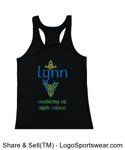 Youth GIRLS Racer Back Tank Design Zoom